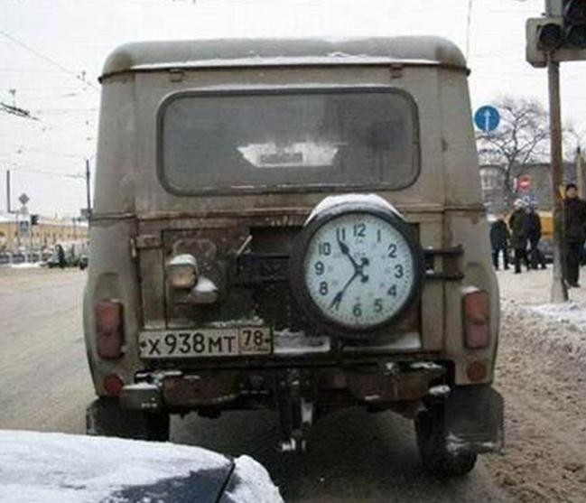 УАЗ с Будильником
