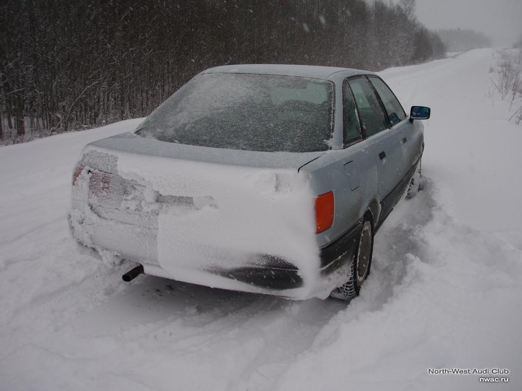 Вот такая вот зима в Вологодской области