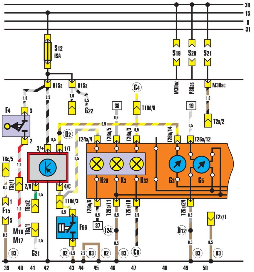 скачать схему электрическую принципиальную для ауди б2 1982 года выпуска